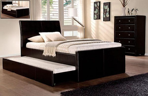 Single Bed Design With Storage